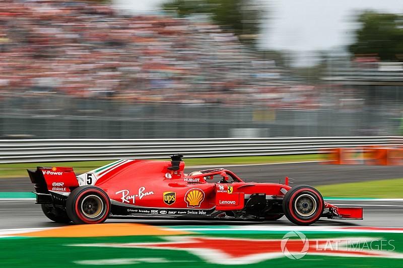 Italian GP: Vettel fastest in FP2 as Ericsson shunts heavily