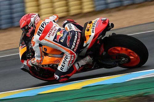 Marquez, pole pozisyonunu kaybetse de üzgün değil