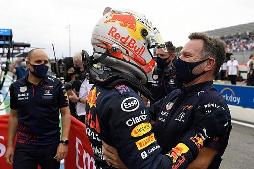 """Red Bull: """"Ballsy"""" F1 strategy call was payback for Spanish GP"""