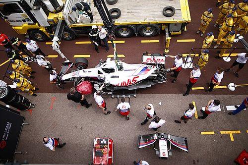 Mick Schumacher forfait pour les qualifs à Monaco