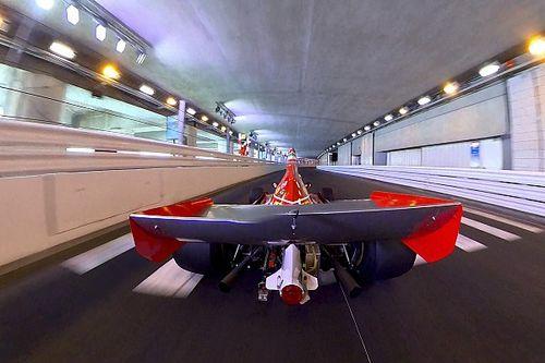 Alesi a Monaco: ecco com'è stato realizzato l'inedito camera car