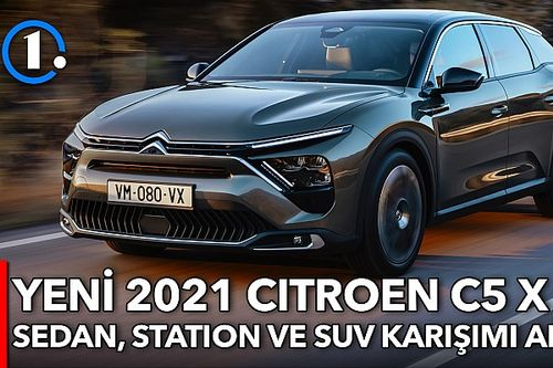 Yeni Citroen C5 X | İlk Bakış