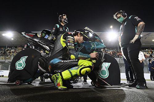 """Rossi s'attendait à mieux: """"Je stresse trop le pneu"""""""