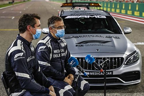 F1 medical car driver Van der Merwe set to miss final 2021 races