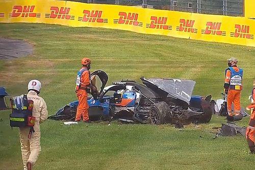 """Laurent sorry for """"unforgivable"""" mistake after Spa crash"""