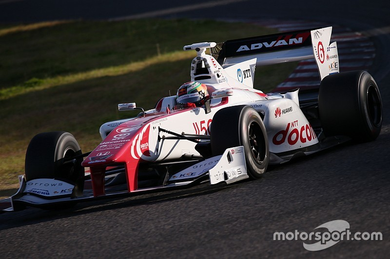 Fukuzumi tops first day of Super Formula test