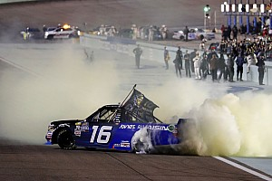 Brett Moffitt wins Homestead and first Truck championship