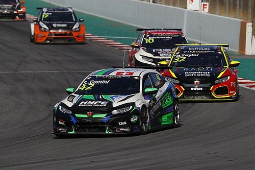 Le TCR Swiss Trophy avec le TCR Germany en 2019