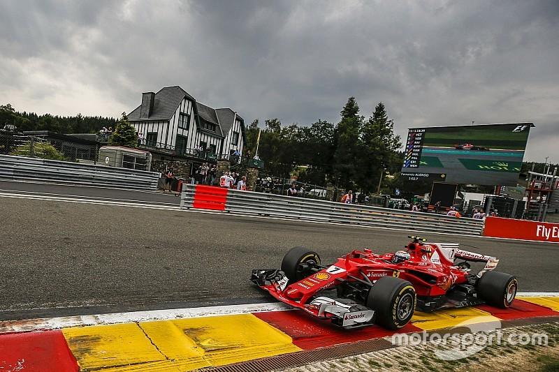 Гран Прі Бельгії: Райкконен побив рекорд кола у третій практиці