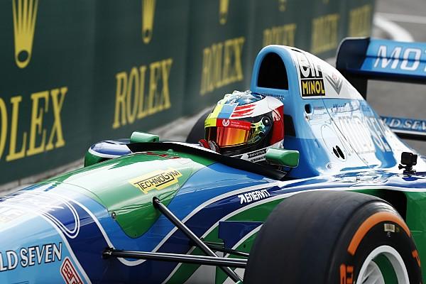 Formel 1 Onboard-Video: Mick Schumacher im Benetton B194 von Michael Schumacher