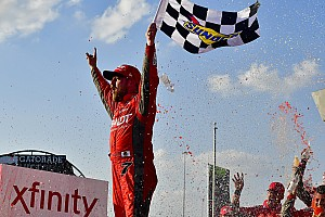 NASCAR XFINITY Reporte de la carrera Justin Allgaier vence en Chicago y se definen los playoffs en Xfinity
