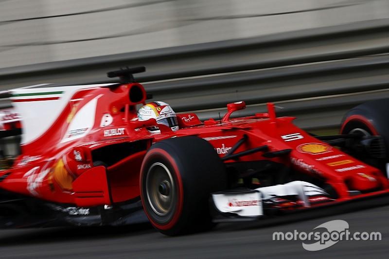 Formel 1 2017 in Bahrain: Sebastian Vettel holt Bestzeit für Ferrari