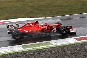 Formula 1 Commento Ferrari: la SF70H è andata in crisi con le gomme full wet
