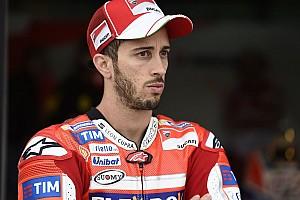 Dovizioso quedó sorprendido por el desempeño de Rossi