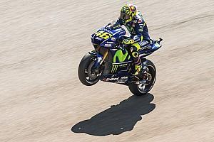 MotoGP Aragon: Valentino Rossi von Platz in Reihe 1 selbst überrascht