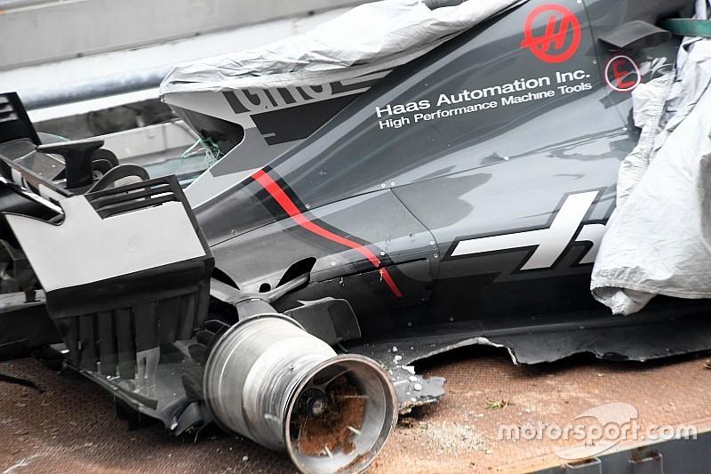 Haas settles insurance claim over Grosjean Sepang crash