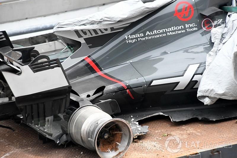 Haas autorisé à enfreindre le couvre-feu après le crash de Grosjean