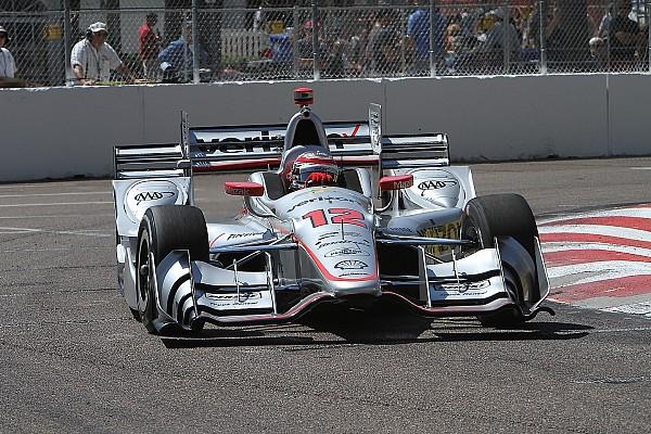 IndyCar IndyCar St Petersburg: Power pakt pole, Pagenaud valt tegen