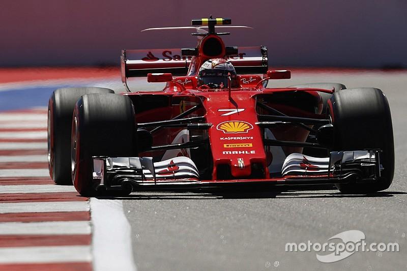 Sochi, Libere 1: Raikkonen mette la Ferrari in vetta per un soffio