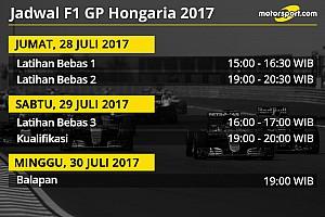 Formula 1 Preview Jadwal lengkap F1 GP Hongaria 2017