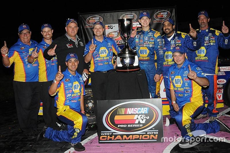 At just 16, Todd Gilliland wins his first NASCAR championship