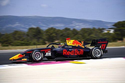 F3ポールリカール・レース1:岩佐歩夢、3番手入線も5秒加算ペナルティで8位。優勝スモリア