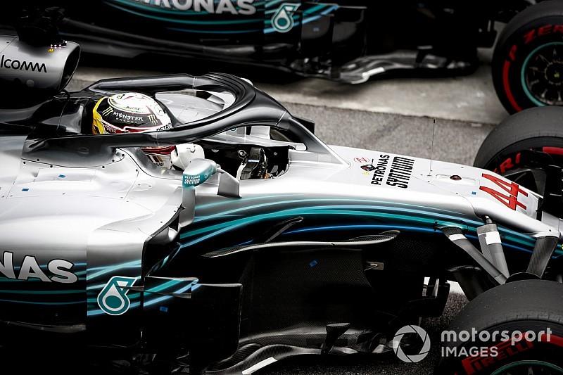 Мотор на машине Хэмилтона оказался поврежден во время Гран При Бразилии