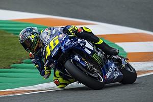 Mesin baru positif, tapi tidak cukup bagi Rossi