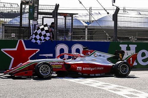 F3 Zandvoort: Hauger extends championship lead with lights-to-flag win
