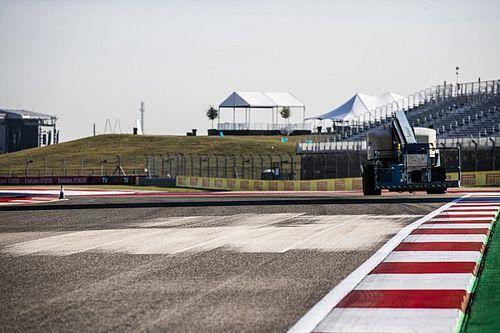 Los baches no son un problema para los F1, según los responsables de Austin