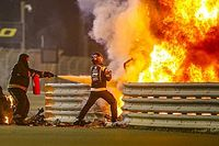 F1 doctor explains Grosjean's escape from burning car