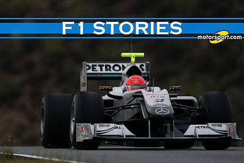 F1 Stories: W01, la prima Mercedes di Schumacher