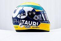 Gasly Imola'da Senna temalı kask tasarımıyla yarışacak