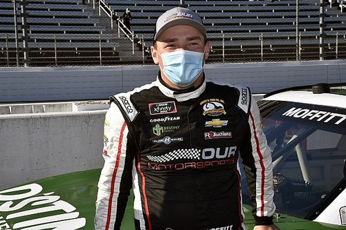 Brett Moffitt leaves GMS, will move up to the Xfinity Series