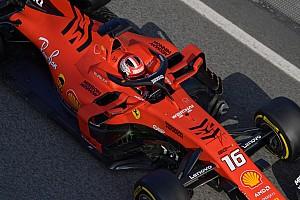 Ferrari: anche Leclerc, a un decimo da Vettel,