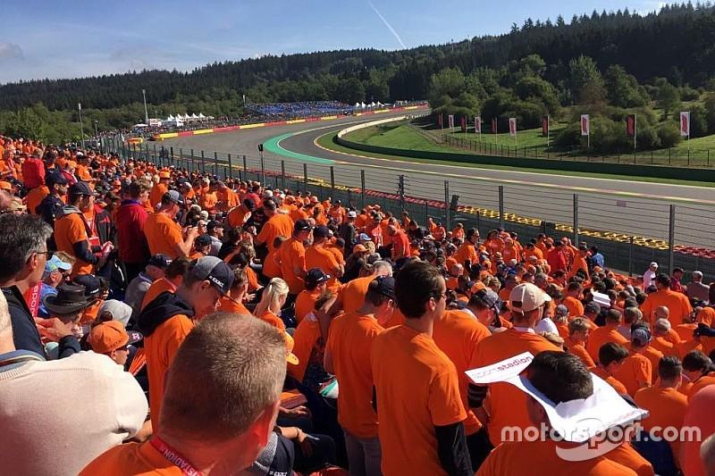 Nuansa oranye F1 GP Belgia bersama Motorsport Experiences
