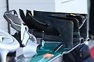 لمحة تقنيّة: تعديلات الصفيحة الخلفية للجناح الأمامي لسيارة مرسيدس دبليو07