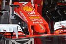 Технічний брифінг: опори переднього антикрила Ferrari SF16-H