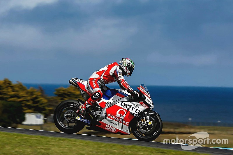 Petrucci injured in Phillip Island crash