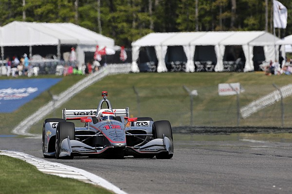Barber IndyCar: Power tops third practice, King shunts