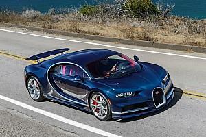 Автомобілі Новини Відео: Bugatti Chiron легко подолав 325 км/год