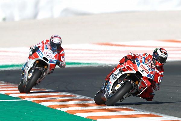 MotoGP Egy félreértés volt az egész Lorenzo-Dovizioso affér a MotoGP-szezonzárón