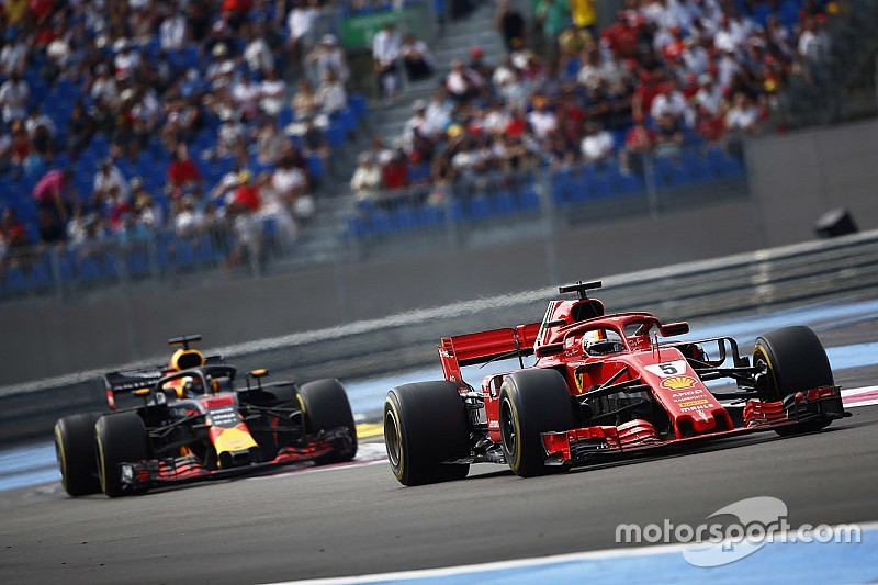 Vettel surprised by wind-assisted Paul Ricard comeback