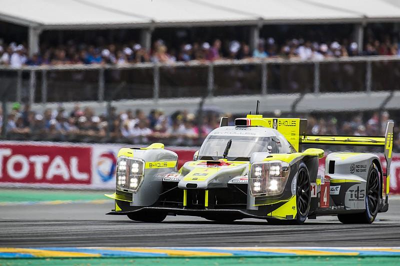Le Mans: brutto incidente fra la ByKolles e la Porsche Ebimotors. Il prototipo si schianta sulle barriere.