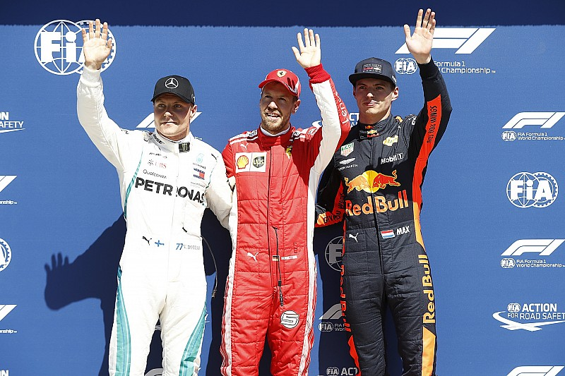 Kanada GP: Pole pozisyonu Ferrari ve Vettel'in!