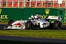 Stop/Go Baumgartner már a pályán az F1-es autóval