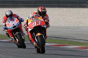 """MotoGP Noticias Márquez: """"El nuevo motor me permite rodar de entrada en mis tiempos"""""""