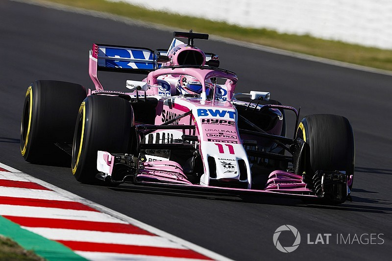 Perez admits Force India not leading midfield pack