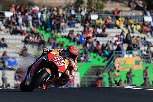 MotoGP Prove libere Valencia, Libere 4: Marquez ha un gran passo, Dovi chiude quinto