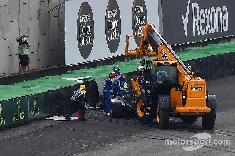 Хемілтон потрапив у аварію під час кваліфікації у Бразилії